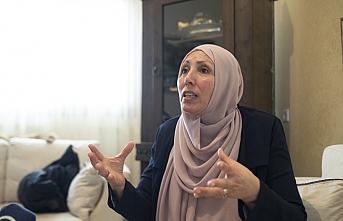 Filistin asıllı İman, seçilirse İsrail Meclisi'nin ilk başörtülü milletvekili olacak