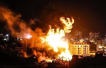 Gazze Şeridi'nde iki hedefe hava saldırısı