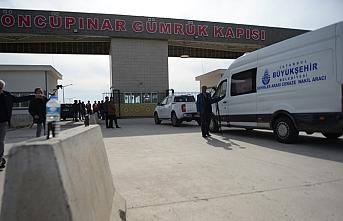 Göç için çıktığı Suriye'ye cenazesi geri döndü