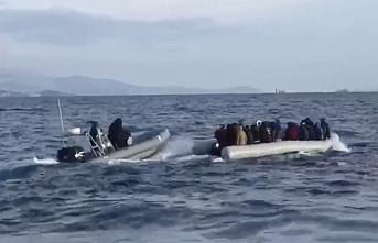 Göçmenlerin Ege denizinden geçişine müsaade edilmeyecek