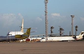 Hafter güçlerinden Mitiga Havaalanına saldırı
