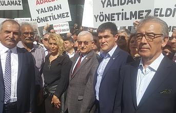 Kavuncu'lardan Buğra, Murat Ağırel'in tutuklanmasını protesto etti
