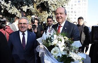 KKTC Başbakanı Ersin Tatar Kayseri'de konuştu