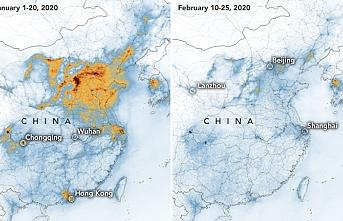 NASA'ya göre koronavirüs Çin havasını temizledi
