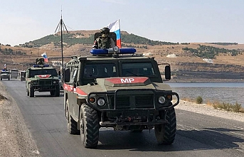 Rus askeri polisi Serakib'e girdi