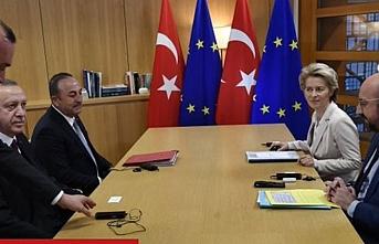 The Times Erdoğan'ın Brüksel'deki göçmen toplantısının detaylarını yazdı