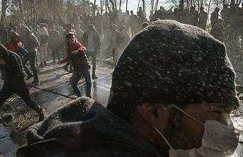 Yunan sınırındakilerin gözü Erdoğan, Macron ve Merkel zirvesinde