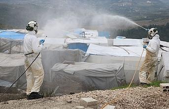 Beyaz Baretliler'den Suriye'deki kamplarda Kovid-19 tehlikesine karşı önlem