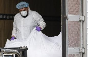 ABD'de morglar doldu, cesetler soğutuculu TIR içinde saklanıyor
