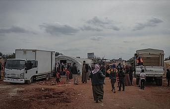 İdlib'de ateşkesten sonra evlerine dönenlerin sayısı 120 bine yaklaştı