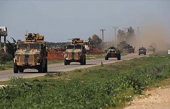 İdlib'deki M4 kara yolunda 5'inci Türk-Rus kara devriyesi icra edildi