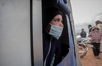 Koronavirüs salgınında Suriye'deki kamplarda yaşayan sivillerin durumu endişe yaratıyor