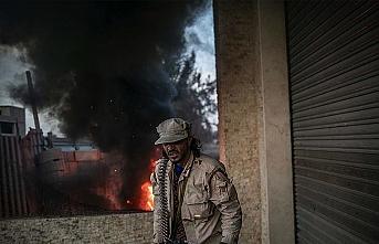 Libya'da hükümet güçleri Hafter milislerine mühimmat taşıyan konvoyu vurdu