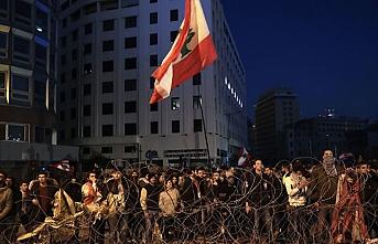 Lübnan'da ekonomik kriz protestosu