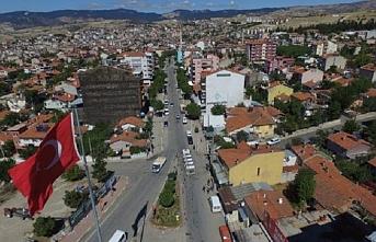Manisa Demirci'de bir sokak karantinaya alındı