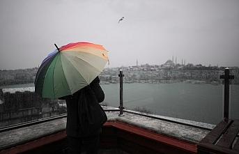 Marmara Bölgesi'nin genelinde çarşamba günü kuvvetli yağış bekleniyor