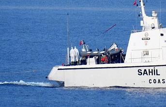 Muğla'da Türk kara sularına geri gönderilen 17 sığınmacı kurtarıldı