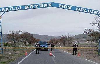 Nevşehir'de bir köy karantinaya alındı