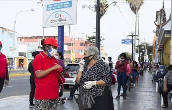 Peru'da Kovid-19 görülen kişi sayısı 10 bini aştı