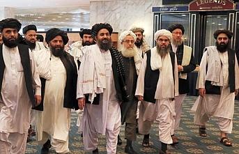 Taliban heyeti 18 yılın ardından Kabil sokaklarında