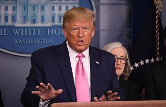 Trump'ın basın toplantısına 'koronavirüste 2. dalga ihtimali' damga vurdu