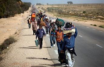 Tunuslu işçiler 2 haftadır Libya sınırında bekliyor