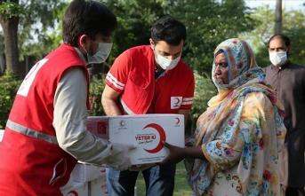 Türk Kızılay 4 bin 500 Pakistanlı aileye gıda yardımında bulunacak