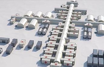Türk şirketi Romanya'da 13,2 milyon avroluk sahra hastanesi yapacak