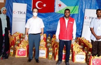Türkiye'den Cibuti'ye gıda yardımı