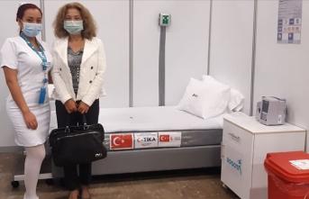 Türkiye'nin Kovid-19 yardımları Kolombiya'ya teslim edildi