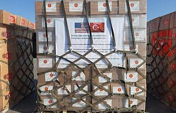 Türkiye'den ABD'ye tıbbi malzeme yardımı