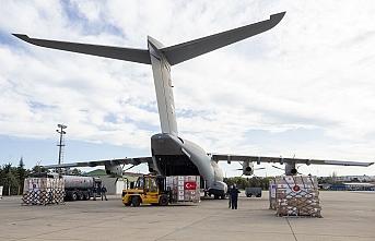 Türkiye'den Balkanlara yardım uçağı havalandı