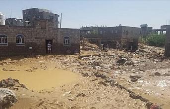 Yemen'de sel nedeniyle 8 kişi hayatını kaybetti