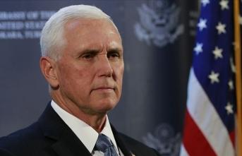 ABD Başkan Yardımcısı Pence'in ofisinden bir kişi daha Kovid-19'a yakalandı