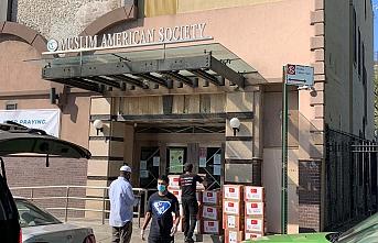 ABD'deki Müslümanlara Ramazan yardımı