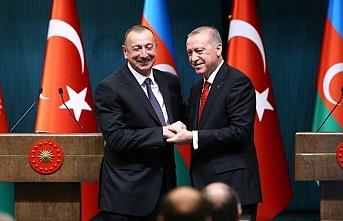 Aliyev ve Erdoğan'dan bayramlaşma telefonu