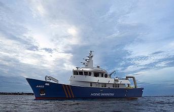 Antalya'da 38 metrelik arkeolojik araştırma gemisinin yapımına başlandı
