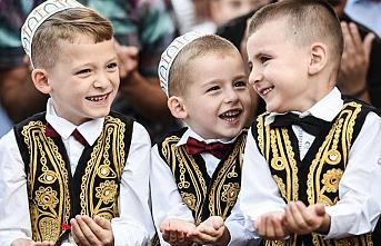 Arnavutluk'ta ihtiyaç sahiplerine Türkiye'den Ramazan yardımı