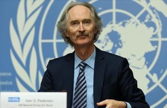 BM Suriye Özel Temsilcisi Pedersen'den Suriye Anayasa Komitesi açıklaması