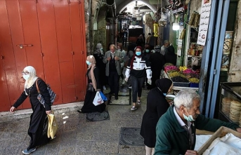 Doğu Kudüs'te yaklaşık 350 bin Filistinlinin yaşadığı açıklandı