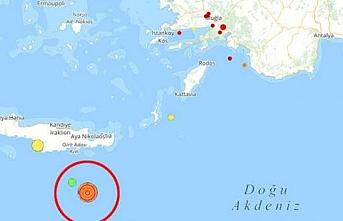 Ege'nin ardından Akdeniz de 4,6 sallandı