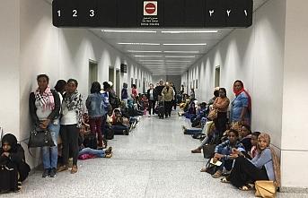 Etiyopyalı ev işçileri Lübnan'da mahsur kaldı