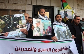 Filistinli tutukluların hesapları kapatıldı halk sokağa döküldü