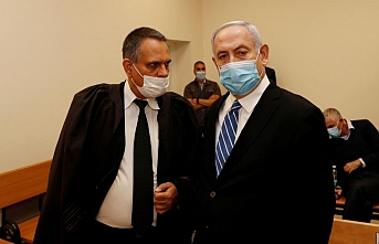 İşgalci İsrail'in Başbakanı Netanyahu hakim karşısında