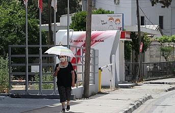 KKTC'de kavurucu sıcaklar başladı