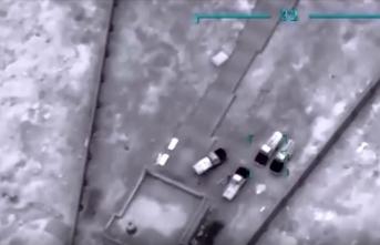 Libya'da hükümet güçlerinden Hafter milislerine ait konvoya 6 hava saldırısı
