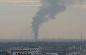 Libya ordusu Hafter'e gönderilen 7 yakıt tankerini vurdu