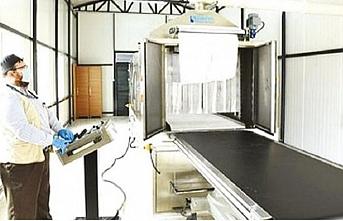 Otomatik cenaze yıkama makinesi