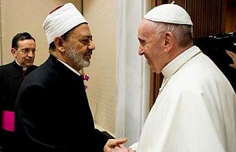 Papa Francis ve el-Ezher Şeyhinden ortak çağrı