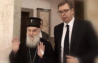 Patrik Irinej ve Aleksandar Vučić Karadağ'ı açıkça tehdit etti
